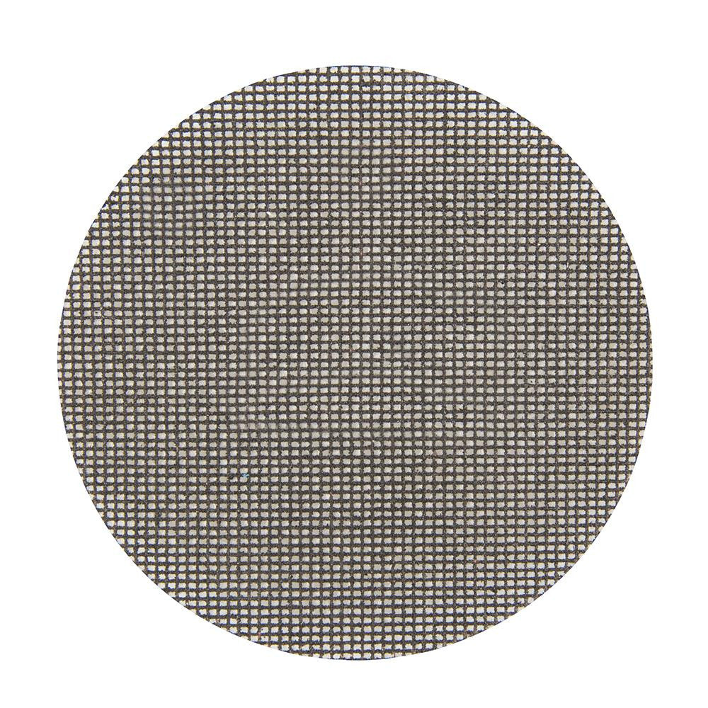 Silverline Hook & Loop Mesh Discs 150mm - 80 Grit