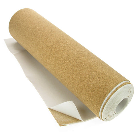 Cork Sheet 5 mt Roll Self Adhesive 480mm wide x 1.5mm thick