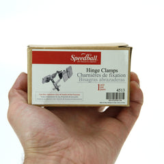 Speedball Screen Printing Hinge/Clamp Pk Of 2