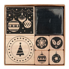 Rico - Stamp Set Modern Christmas