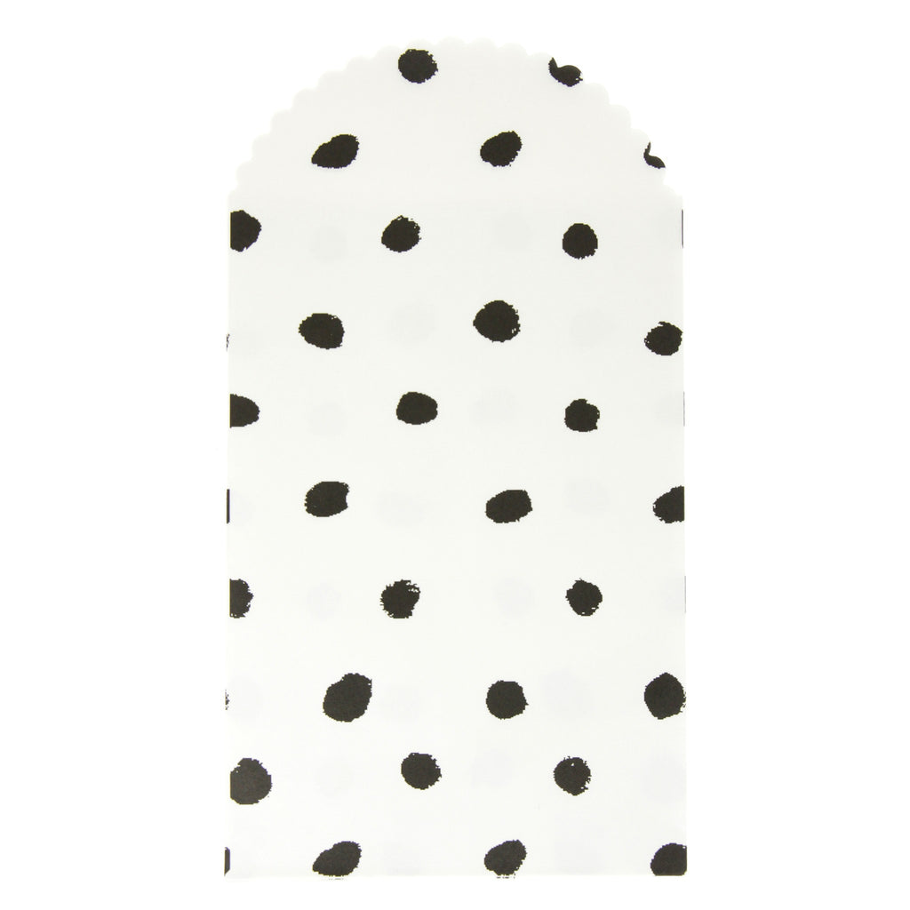 Rico - Paper Bag Black Dots - Big