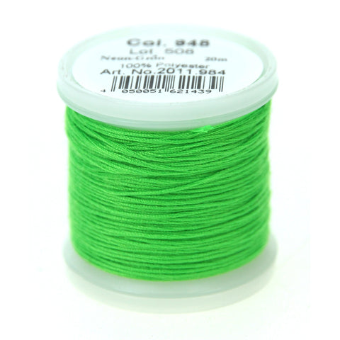 Rico - Embroidery Thread Neon Green