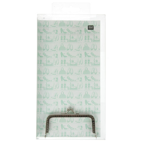 Rico - Bag Frame Silver 95mm