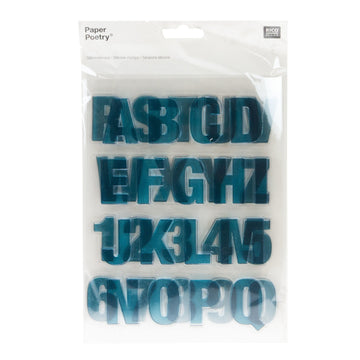 Rico - Silicone Stamp Abc/Numbers Big