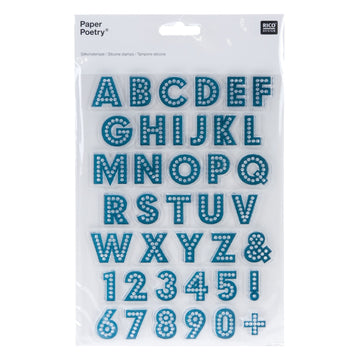 Rico - Silicone Stamp Abc/Numb Small