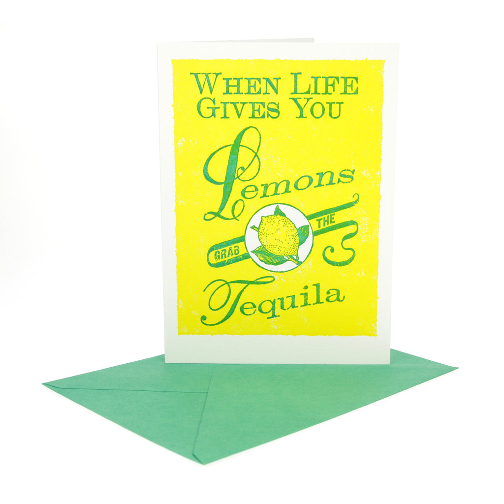 Lemons and Tequila Card