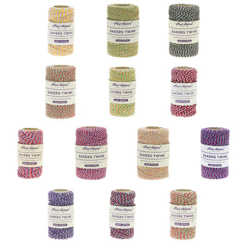Fred Aldous - Tri Coloured Bakers Twine