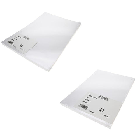 300gsm White Card Pack