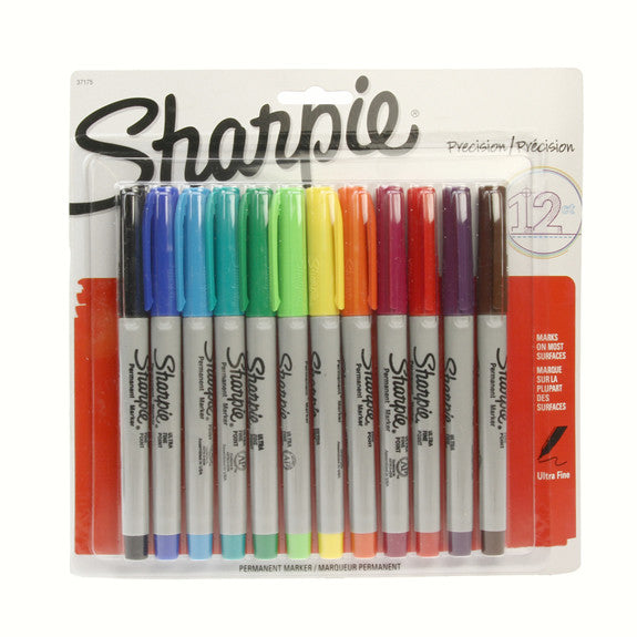 Sharpie Ultra Fine Point Markers 12 Pack