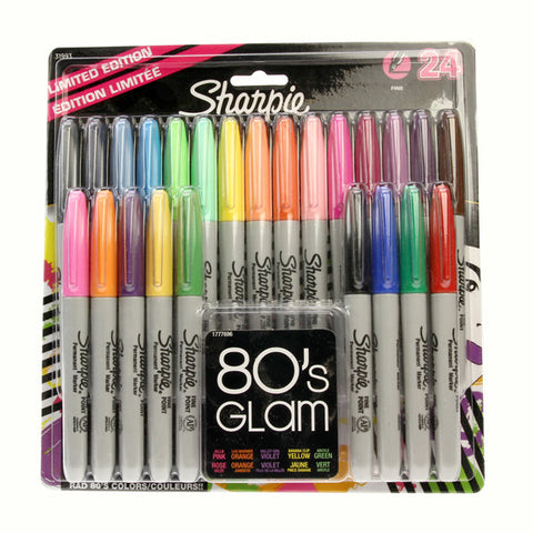 Sharpie 80's Glam Marker 24 Pack