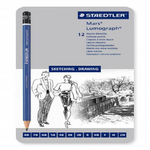 Lumograph Pencil Sketch 12 Set