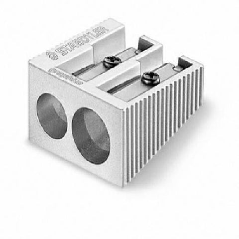 Staedtler Sharpener 2 Hole Mtl