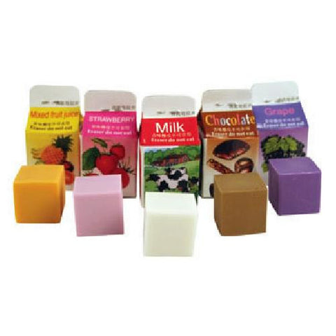 Scented Erasers - 5 Flavours