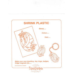 Shrink Plastic - 4 Colours