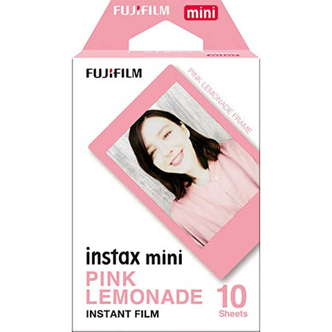 Fuji Instax Mini Film - Pink Lemonade