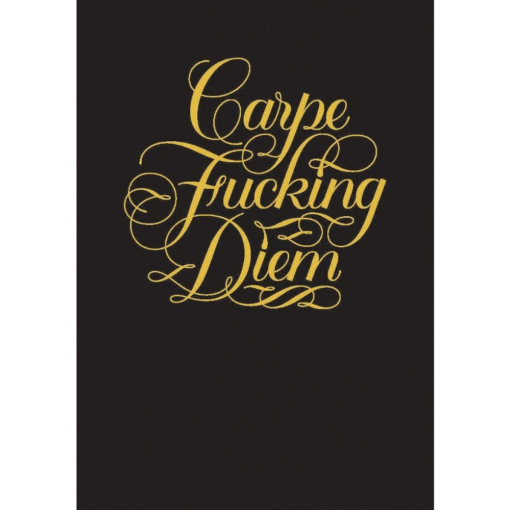 Carpe Fucking Diem Flexi Journal