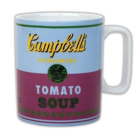 Andy Warhol Campbell`s Soup Red Violet Mug