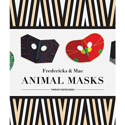 Fredericks & Mae Animal Mask Notecards