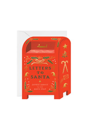 Letters To Santa Greetings Card