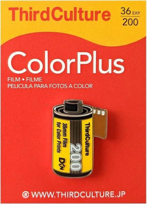 ColorPlus 200 35mm Film Pin Badge