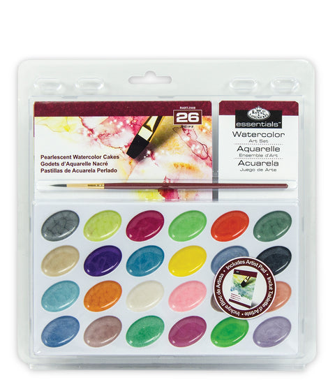 Pearlescent Watercolour Art Set