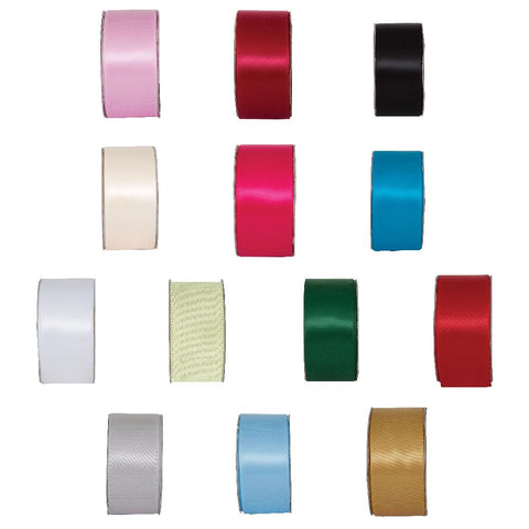 3m Ribbon - Wide Satin 25mm