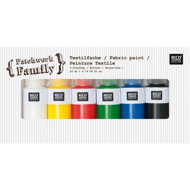 Rico - Fabric Paint Set Basic
