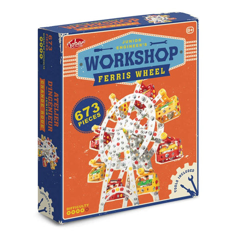 Packaging box for the Ferris Wheel model