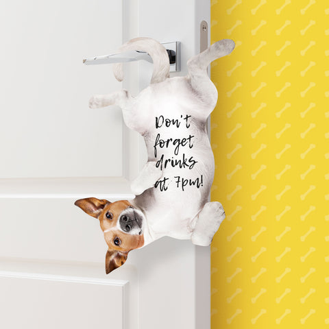 Dog Hanging Notes