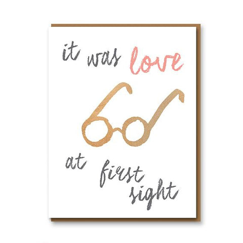 It Was Love at First Sight - Card