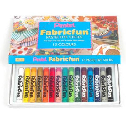 Fabric Pastels 15 Colours