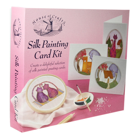 HC410 Silk Painting Card Kit