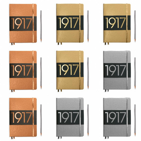 1917 Metallic Edition Notebook - Medium