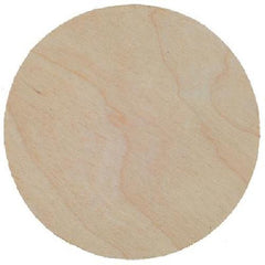 Birch Plaque 4mm Thick Pack of 3