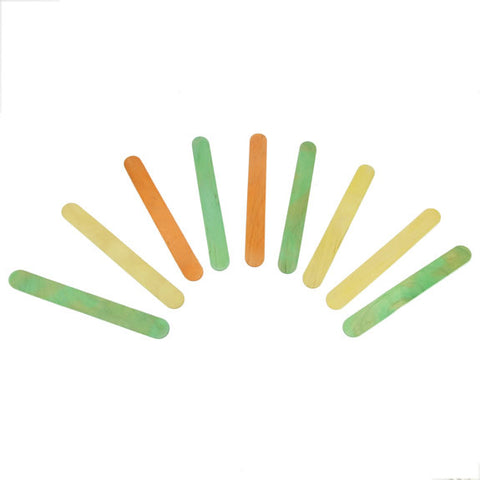 Jumbo Lollipop Sticks - Colour 100 Pk