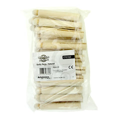 Dolly Pegs Natural - 30 Pack