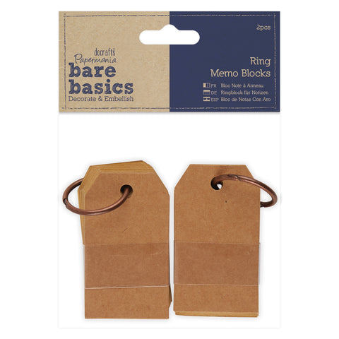 Papermania Ring Memo Blocks (2pcs)