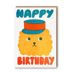 Sukie Letterpress Collection HB Lion with Hat