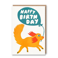 Sukie Letterpress Collection HB Dog with Balloon