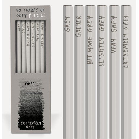 Extremely Grey Pencils