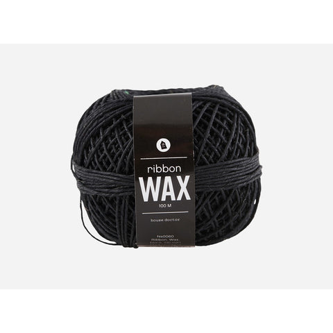 Ribbon Wax Black 100 Meter