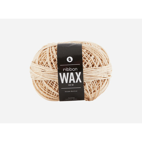 Ribbon Wax Natural 100 Meter