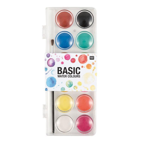 Rico Basic Water Colours Small