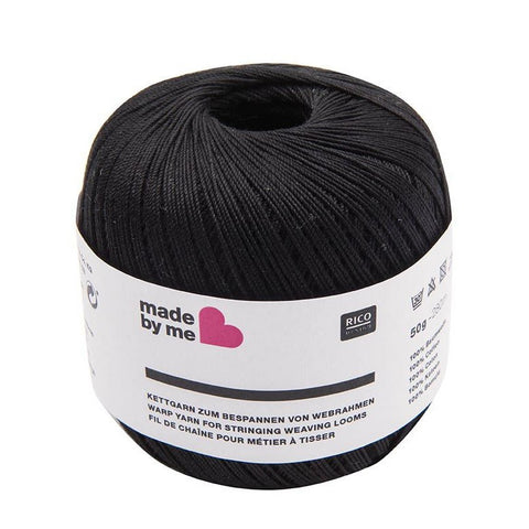 Rico Warp Yarn Black 50 G50 G