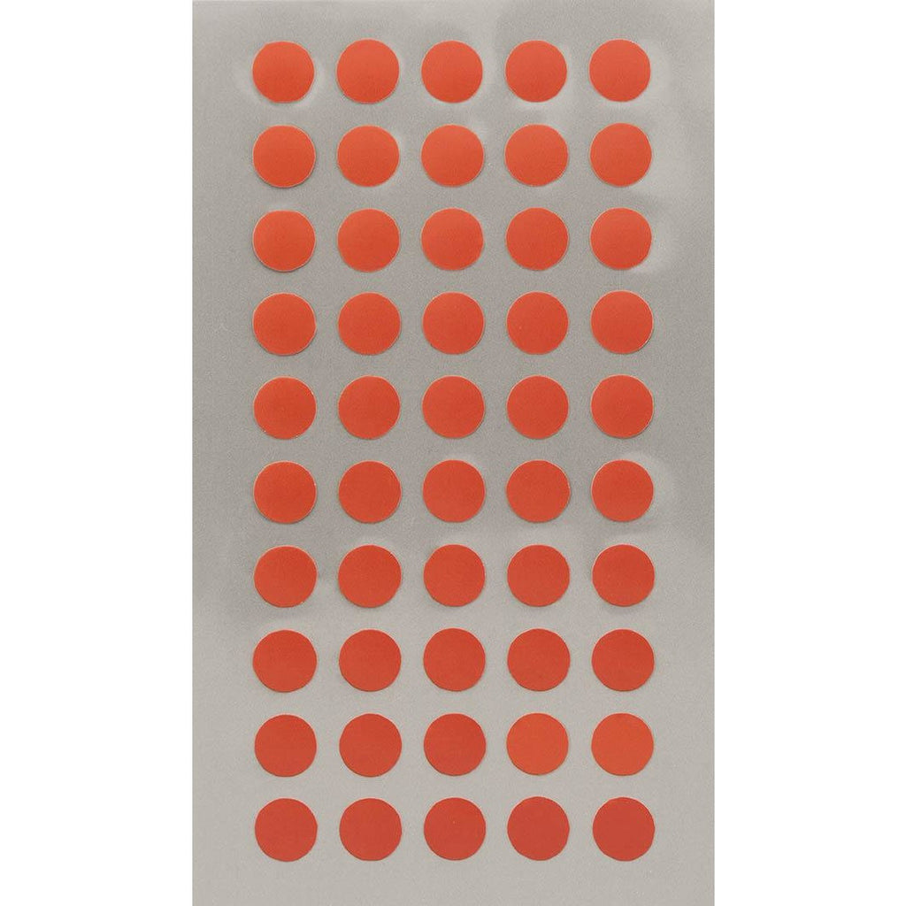 Rico Office Stick Red Dots 8mm 4 Sheets 7x15.5 cm