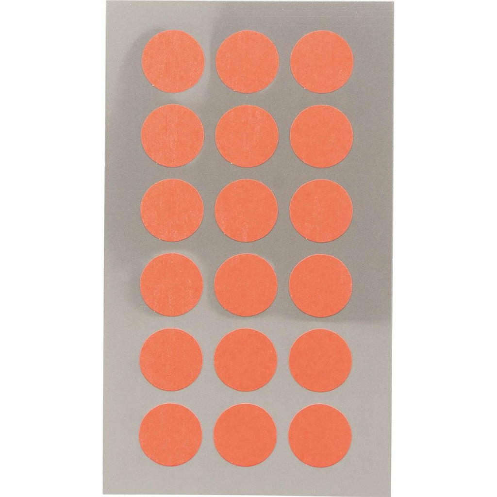 Rico Office Stick Neon Red Dots 15mm 4 Sheets 7x15.5 cm