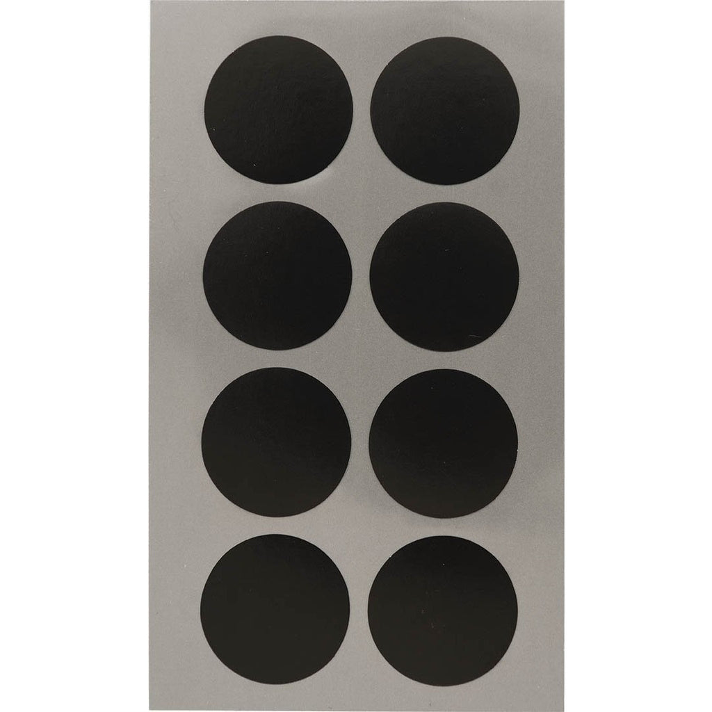 Rico Office Stick Black Dots 25mm 4 Sheets 7x15.5 cm
