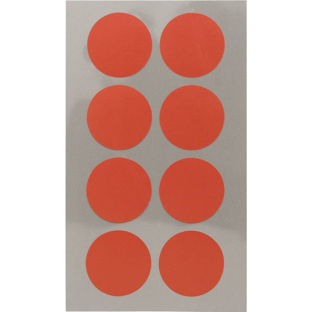 Rico Office Stick Red Dots 25mm 4 Sheets 7x15.5 cm
