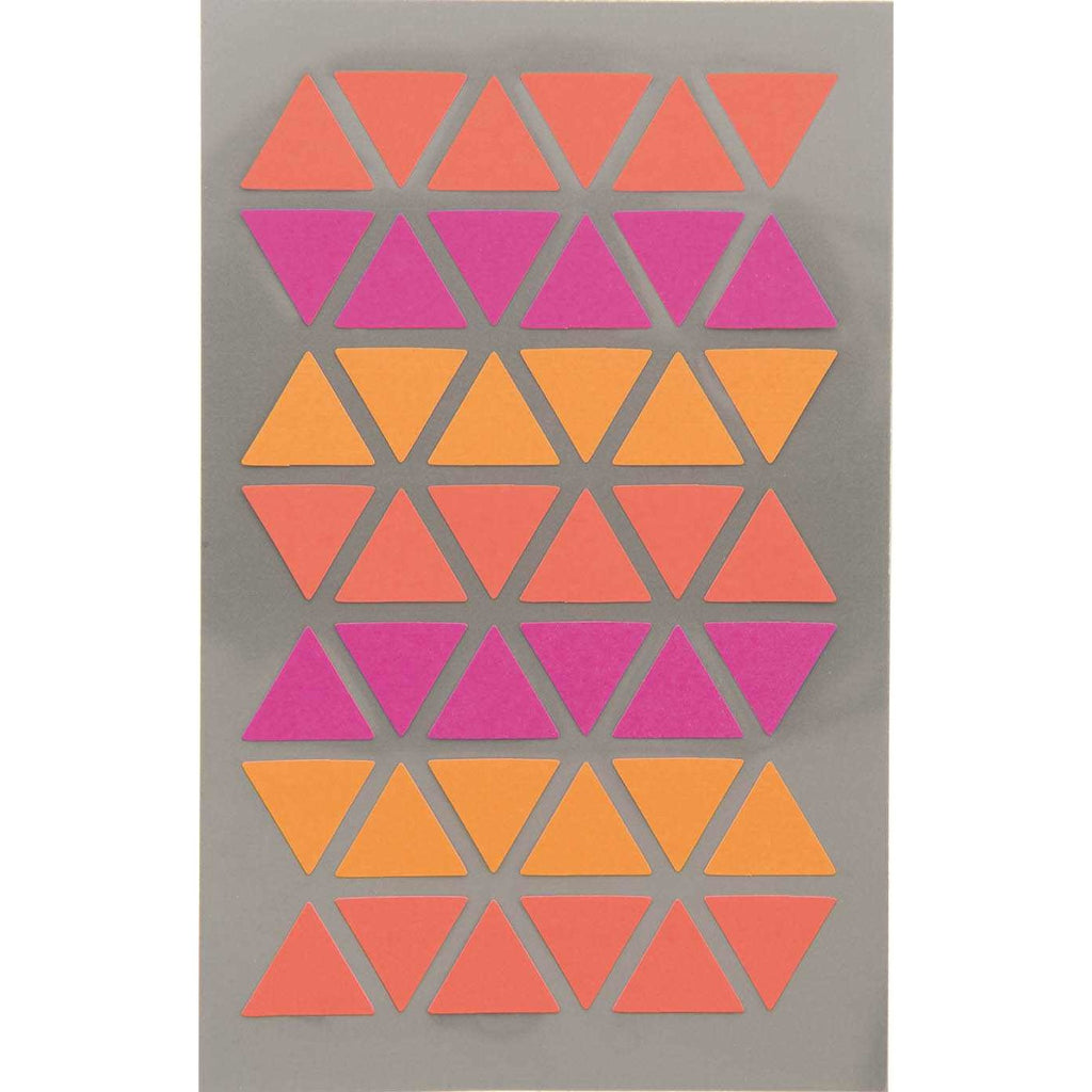 Rico Office Stick Triangl Fuchs/Re 4 Sheets 9.5x19 cm