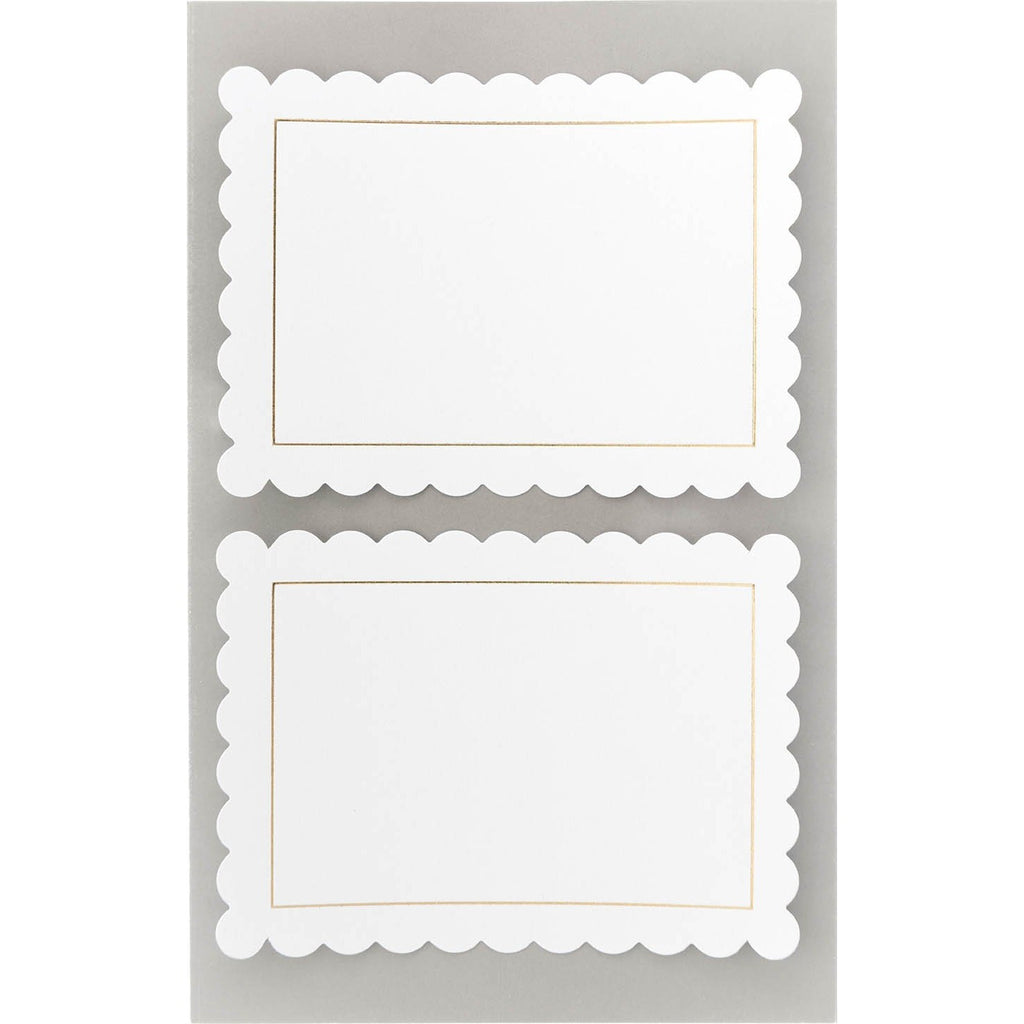 Rico Office Stick Whi Labels Roset 4 Sheets 9.5x19 cm